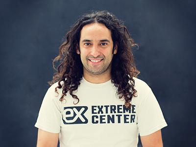 Diego Rosende. Propietario y monitor Extreme Center Lanzarote